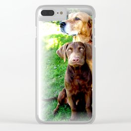 Ain't Nothing But A Hound Dog Clear iPhone Case