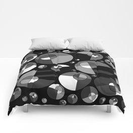 Bubble Grey 11 Comforters