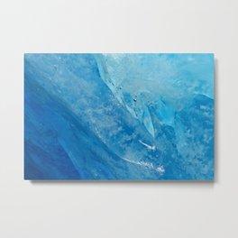 glacial ice 2 Metal Print