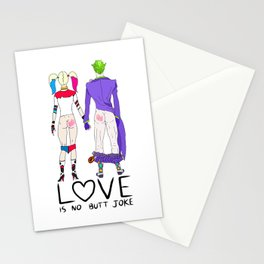LOVE is no BUTT Joke - Handwritten Stationery Cards
