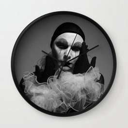 'Pierrot Noir', Photographer (c)Joel Stephen Birnie, 2015 Wall Clock