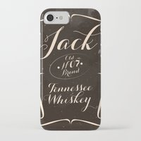 jack daniels iPhone & iPod Cases featuring Jack by Grace