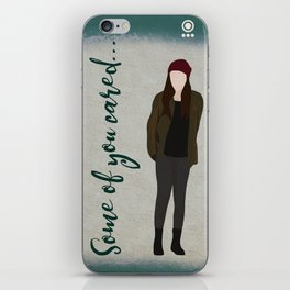 Some of you cared... iPhone Skin
