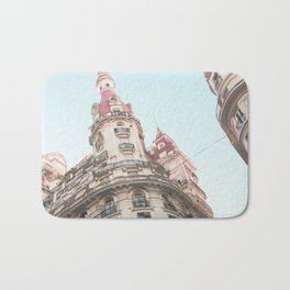 French Sky (Retro and Vintage Urban, architecture photography) Bath Mat