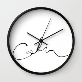 Calm Wall Clock