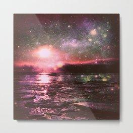 Mystic Waters Deep Pastels Metal Print