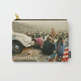 Woodstock, Music Festival 1969. Flower Power,Hippies and Fun Carry-All Pouch
