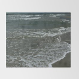 Sea Foam Throw Blanket