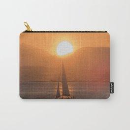 Sail under the Sun Salish Sea Carry-All Pouch