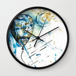 Floating Away Wall Clock
