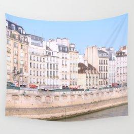 Bright Paris Wall Tapestry