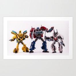 Autobots Art Print