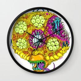 Monster Donut Wall Clock
