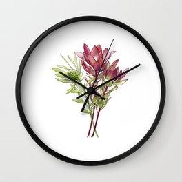 Leucadendron Wall Clock