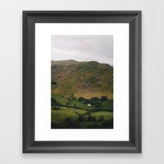 Mountain House Framed Art Print