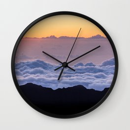 Haleakala National Park, USA #society6 #decor #buyart Wall Clock