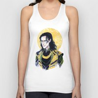 enerjax Tank Tops featuring Loki of Asgard by enerjax