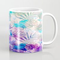 tropical Mugs featuring TROPICAL  by sametsevincer