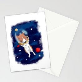 Space Corgi Stationery Cards