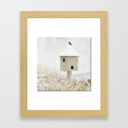 Bird House Framed Art Print