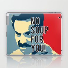 No Soup For You Laptop & iPad Skin