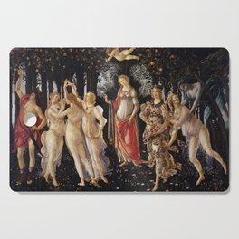 Primavera by Sandro Botticelli Cutting Board