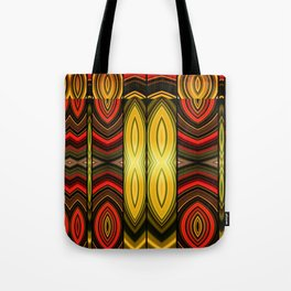 Fractured Ring 15 Tote Bag