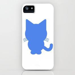 (tshirt) catshirt (color fill) iPhone Case