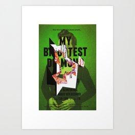jhfjh Art Print