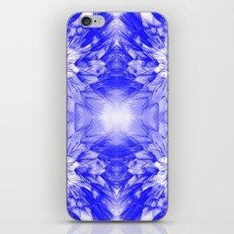 Dandelions Boldblue iPhone Skin