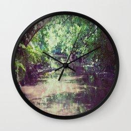 Creekside 1 Wall Clock