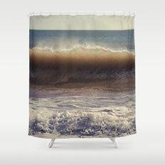 Azure Horses Shower Curtain