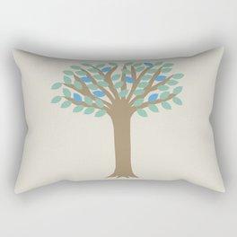 Summer Tree Rectangular Pillow