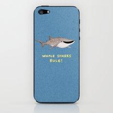 Whale Sharks Rule! iPhone & iPod Skin