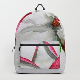 Watercolour Magnolia Backpack