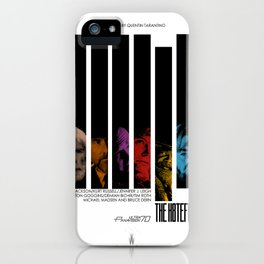 The hateful eight Jazzy poster iPhone Case