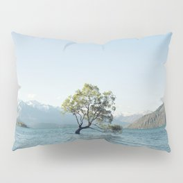 That tree in the middle of the lake Pillow Sham