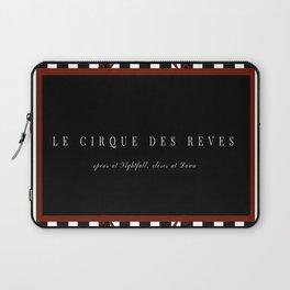 Night Circus Invitation Laptop Sleeve