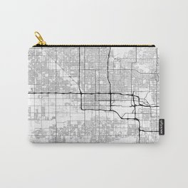 Minimal City Maps - Map Of Phoenix, Arizona, United States Carry-All Pouch