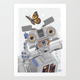 Johnny 5 is Alive! Art Print