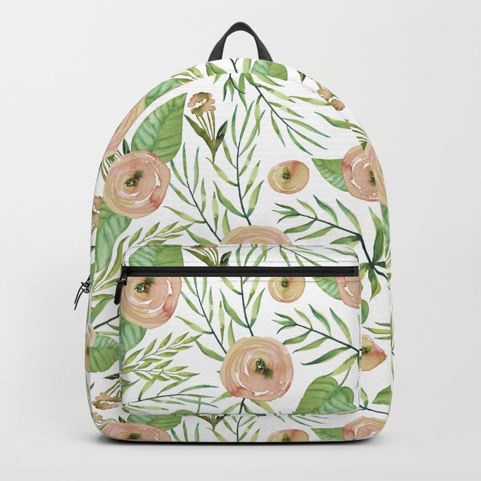 Country Rose Garden Backpack