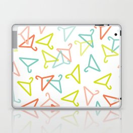 Coloured Hangers Laptop & iPad Skin