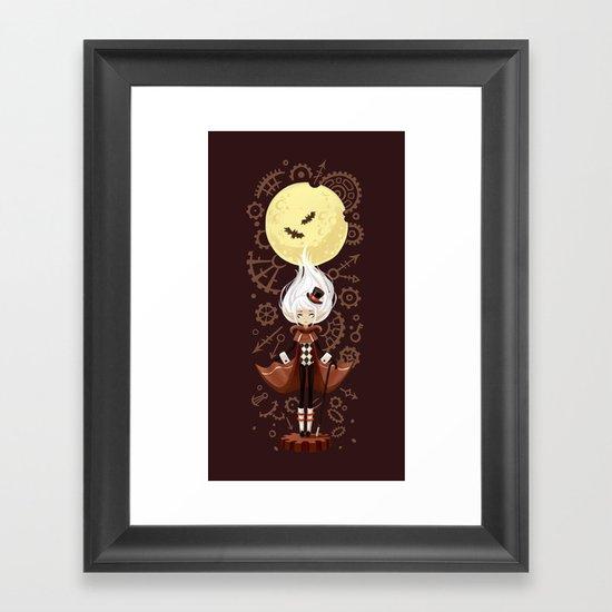 Time Traveler Framed Art Print
