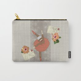 Sock Monkey Ballerina on Tour Carry-All Pouch