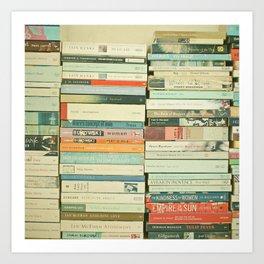 Bookworm Art Print