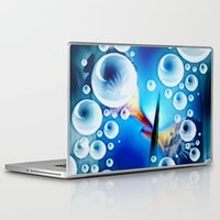 pisces Laptop & iPad Skins featuring Pisces. by capricorn