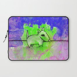 Dog No.1d by Kathy Morton Stanion Laptop Sleeve