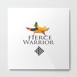FIERCE WARRIOR Metal Print