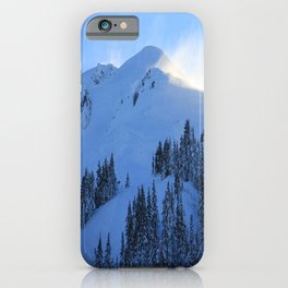 Ghosts In The Snow iPhone Case