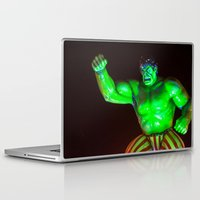 hulk Laptop & iPad Skins featuring Hulk by Roser Arques